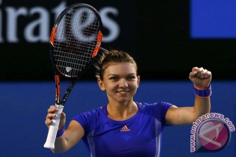 Simona kalahkan Wang di Turnamen BNP Paribas Terbuka
