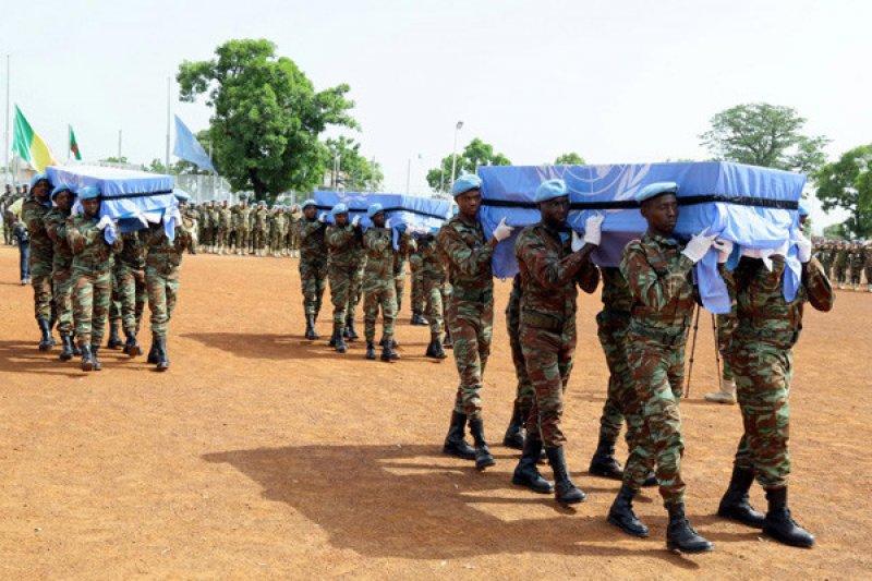 Empat penjaga perdamaian PBB tewas  diserang di Mali