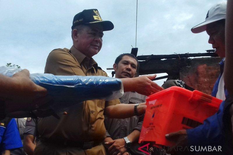 Wagub Sumbar harapkan ekonomi pedagang cepat pulih pascakebakaran Pasar Koto Baru