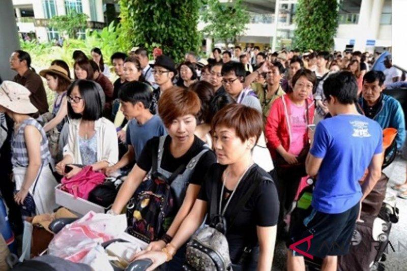 Kunjungan wisman mencapai 789.338 orang