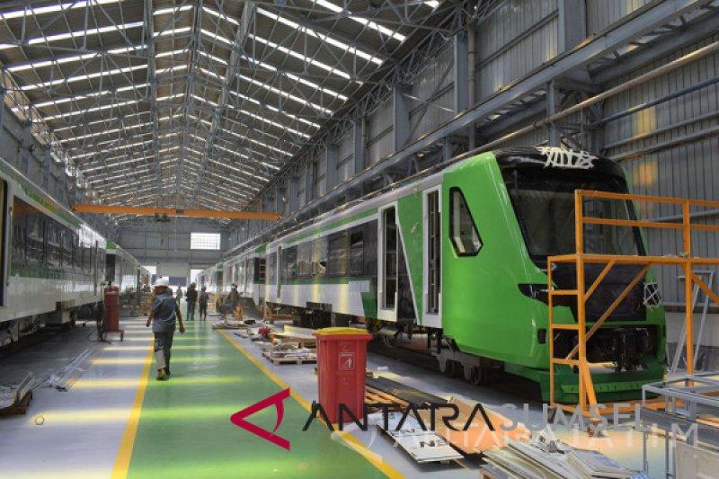 INKA akan uji LRT Palembang
