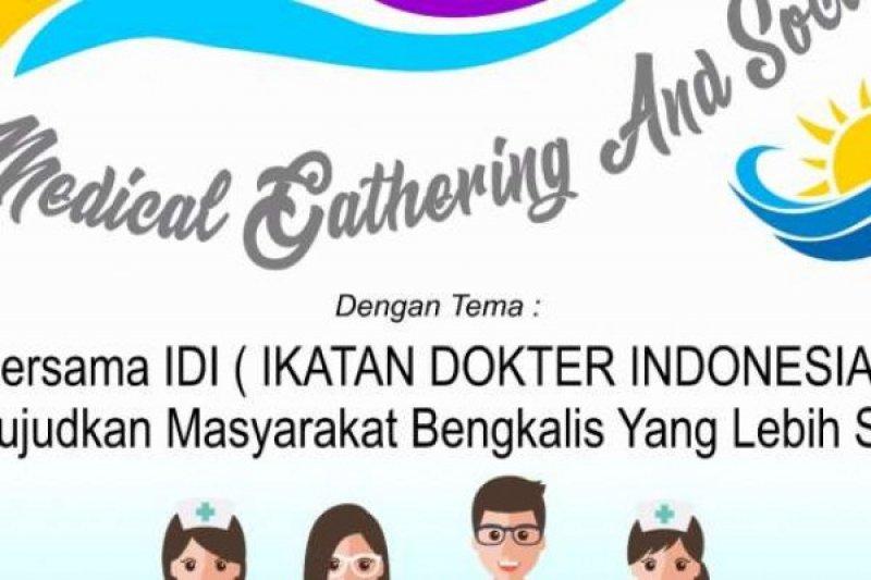 """IDI Bengkalis Gelar Pengobatan Gratis dalam """"Selatbaru Medical Gathering and Social Event"""""""
