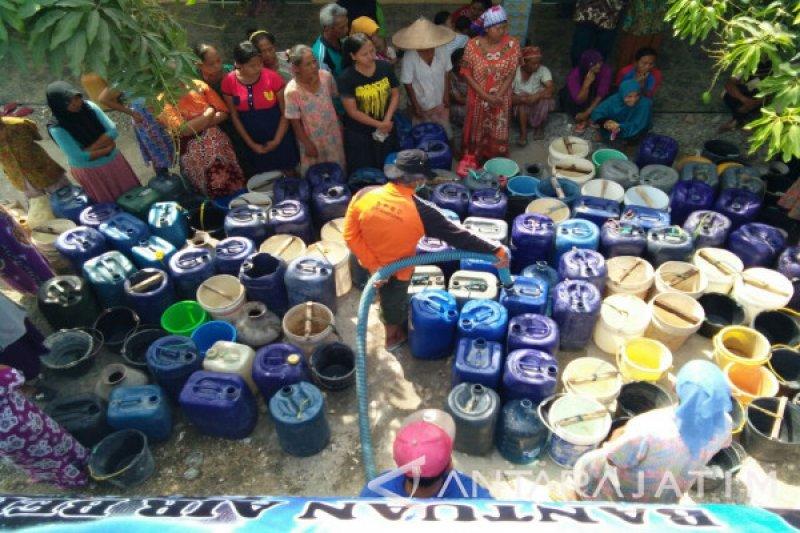 BPBD Sleman mengantisipasi kekeringan air bersih di Prambanan