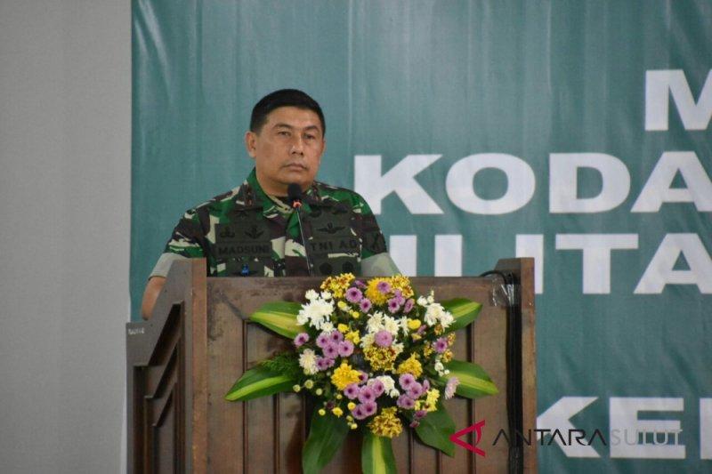 Pangdam : Komandan Satuan harus jadi contoh prajurit