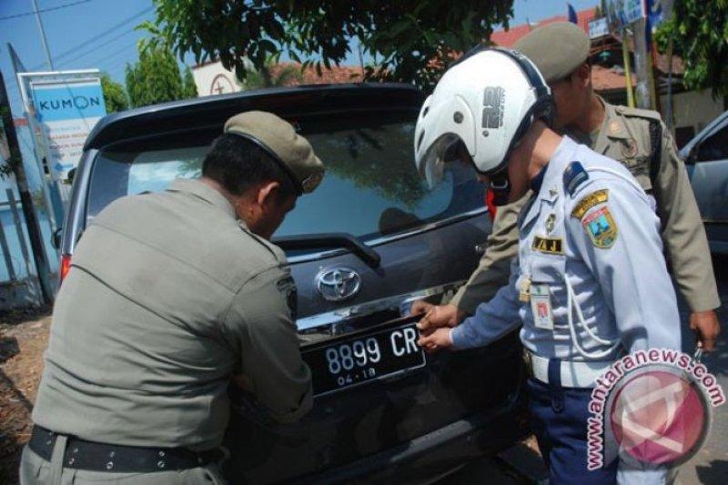 UPT Pendapatan Makassar jaring kendaraan penunggak pajak
