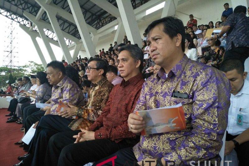 Asia Easter Celebration di Stadion Maesa Tondano Minahasa