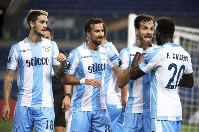 Lazio berhasil menang atas Salzburg di leg pertama perempatfinal Liga Europa