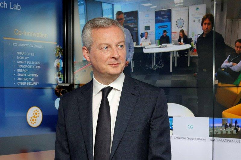 Menteri Keuangan Prancis Bruno Le Maire positif virus corona