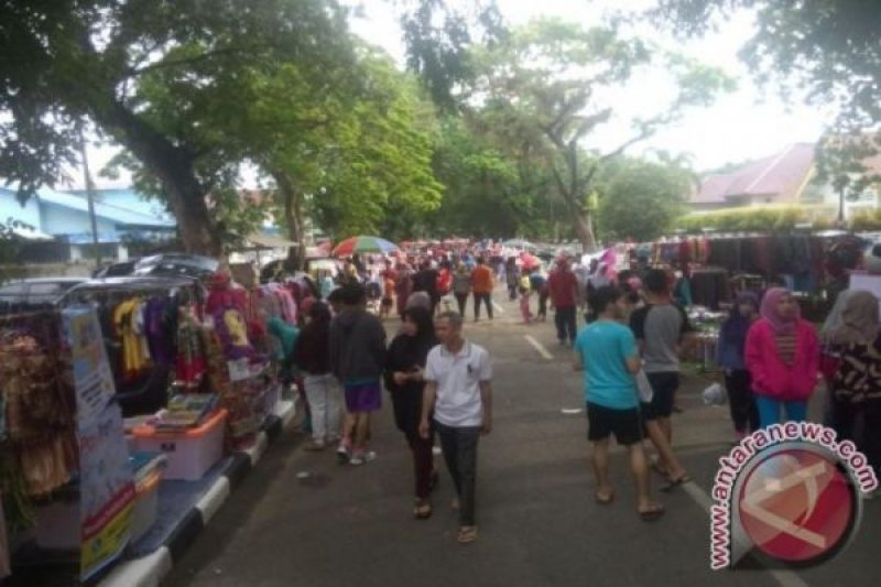 "Kawasan ""Car Free Day""  Palembang dipadati pedagang"