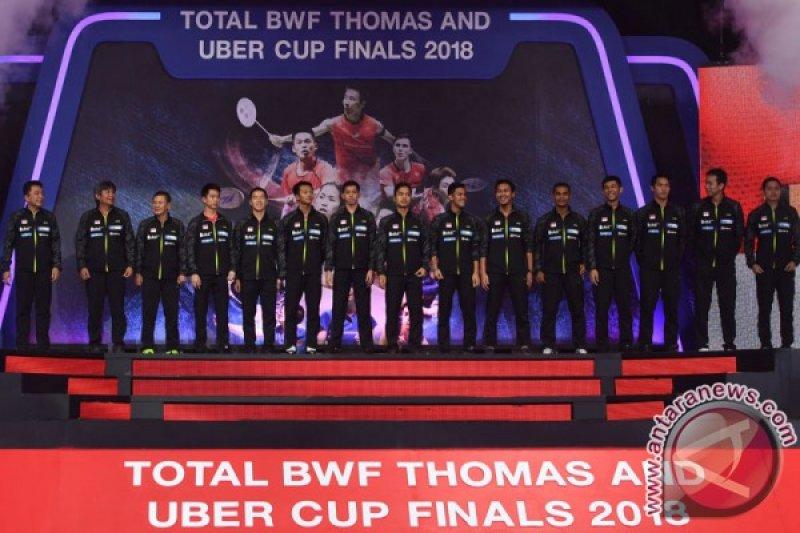Putaran final Piala Thomas dan Uber Cup 2020 ditunda