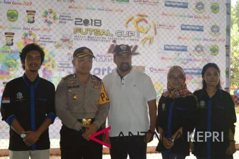 Futsal IMKL Cup diikuti tujuh kabupaten/kota se-Kepri