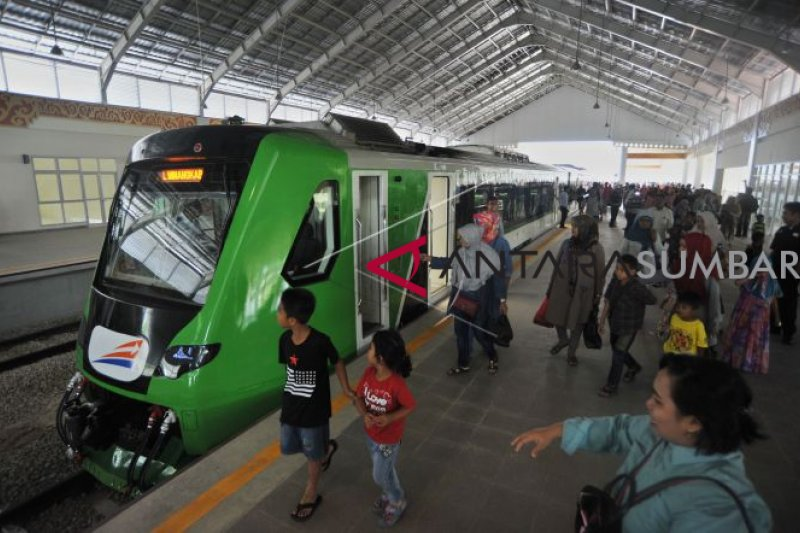 Minangkabau Express is The Third Airport Train in Indonesia