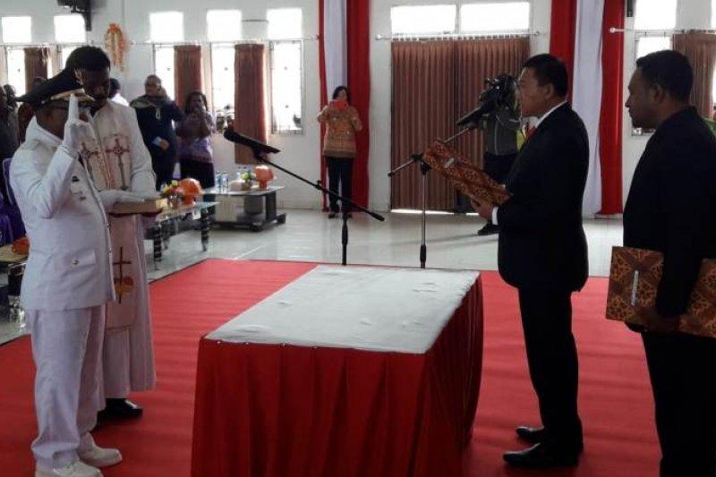 Penjabat Gubernur Papua lantik Penjabat Bupati Puncak