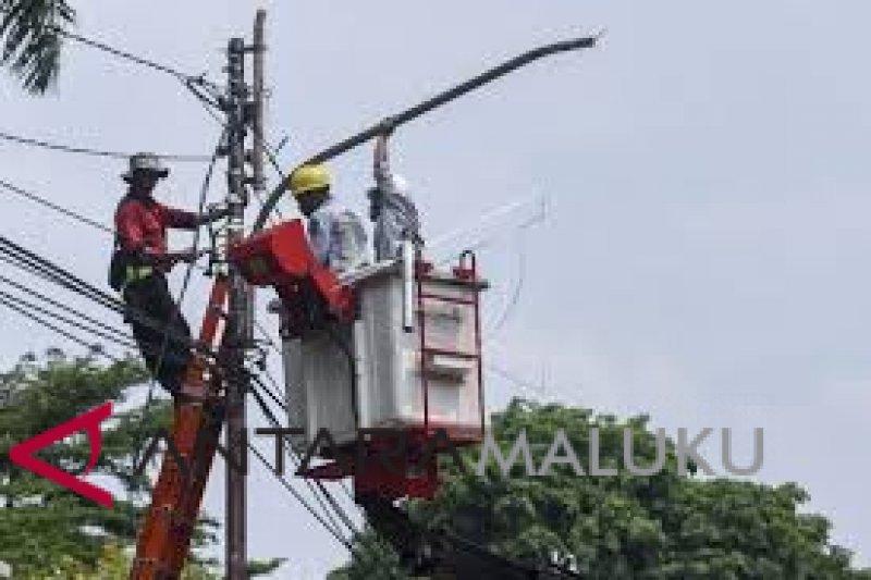 Wilayah pedesaan di OKU minim lampu penerangan jalan