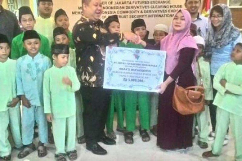 PT Rifan Pekanbaru Bukukan Perdagangan 540.541 Lot