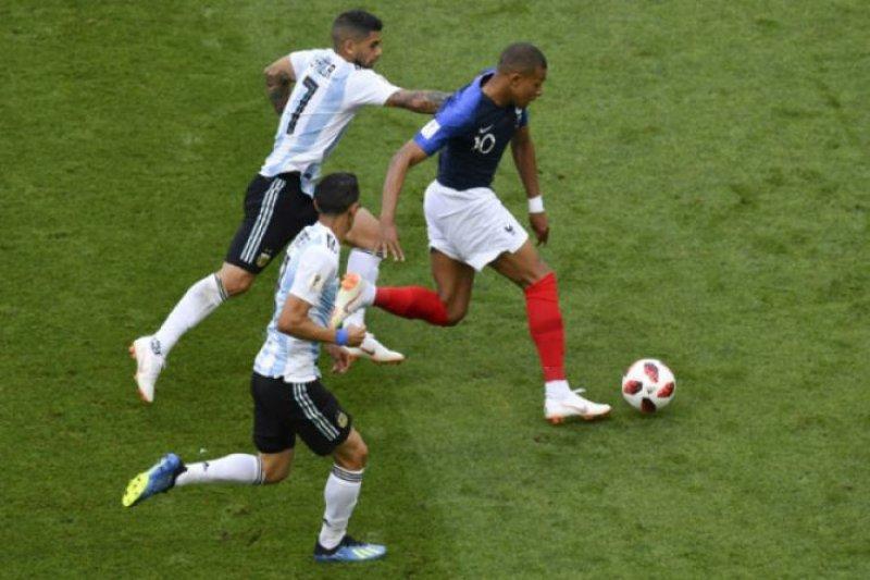 Prancis singkirkan Argentina dari Piala Dunia 2018