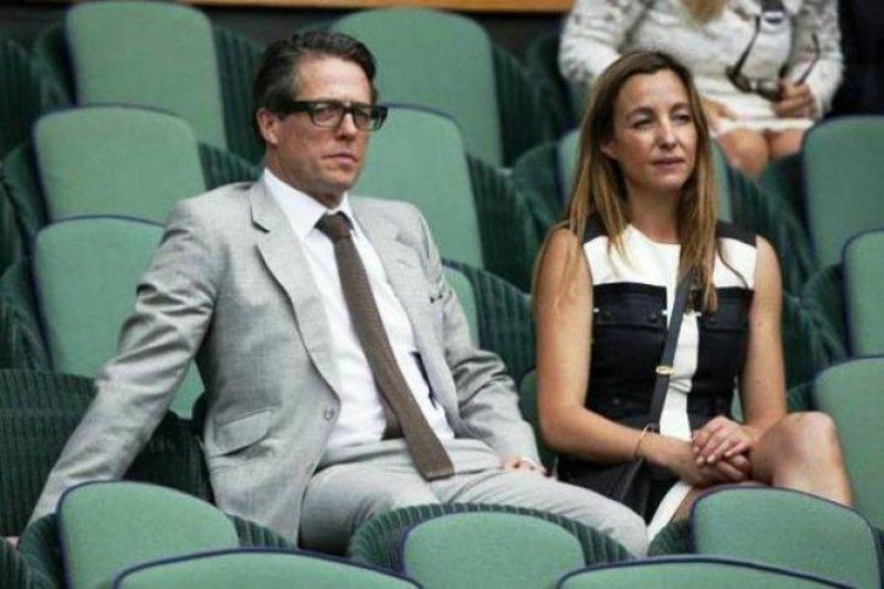 Hugh Grant akhirnya nikahi Anna Eberstein