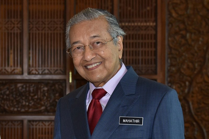 "Mahathir ""open house"" Idul Fitri pertama"