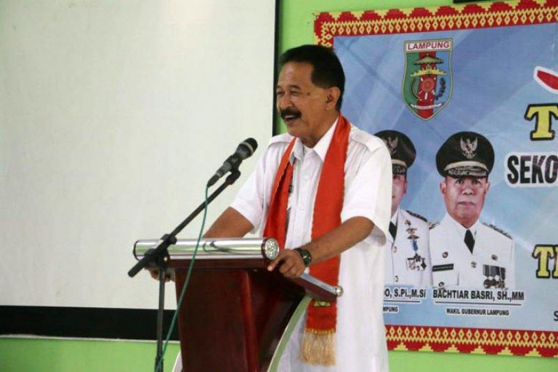Pemprov Lampung apresiasi Kabupaten/Kota penyelenggara lomba sekolah sehat