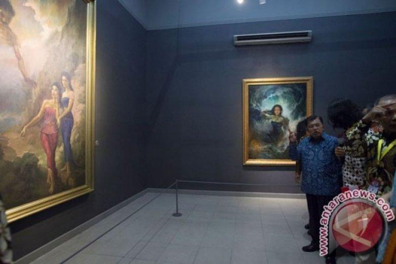 Koleksi seni dari lima Istana Kepresidenan dipamerkan