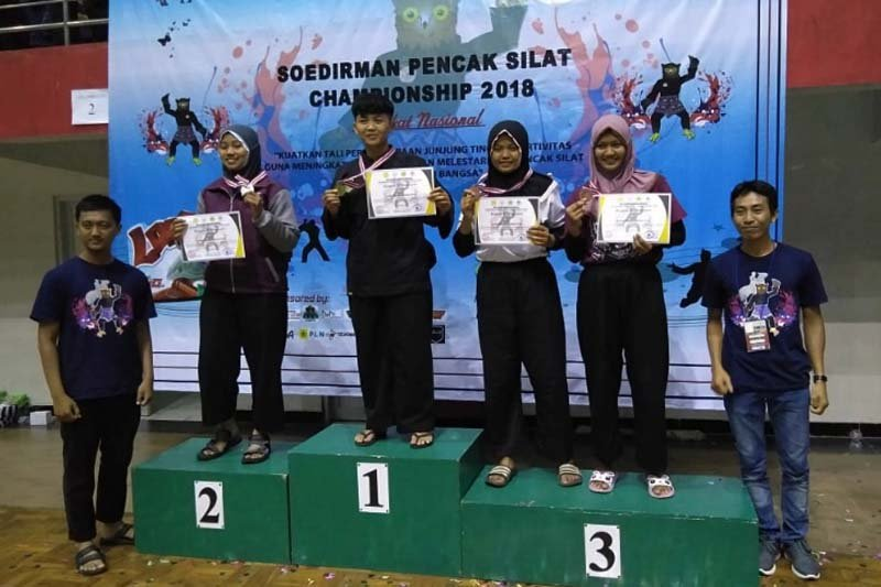 Pesilat Retno Nur Afifah raih medali emas