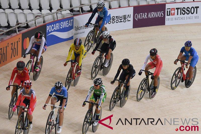 Ayustina Delia ingin fokus ke balap sepeda track