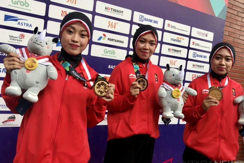 Medali emas beregu putri direbut Indonesia, Pencak silat sudah sumbang 11  emas