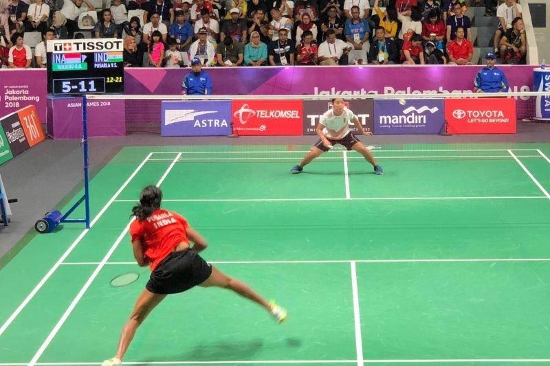 Tunggal Putri Indonesia Gregoria gagal capai perempat final