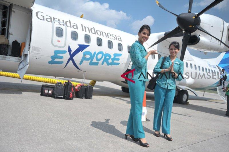 Dihentikan, penerbangan Garuda Indonesia Kualanamu-Sabang
