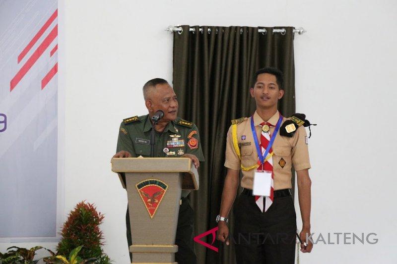 BUMN Hadir - Askrindo libatkan TNI tingkatkan wawasan bela negara peserta SMN Yogyakarta