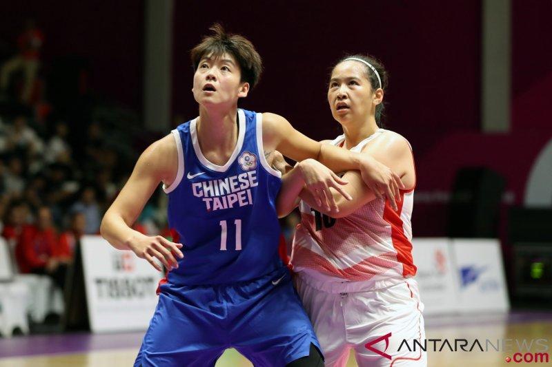 Hasil dan klasemen bola basket, putri Chinese Taipei juara Grup X