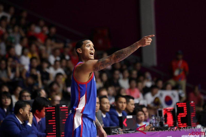 Filipina berpesta lawan Suriah, tapi hanya peringkat kelima basket putra