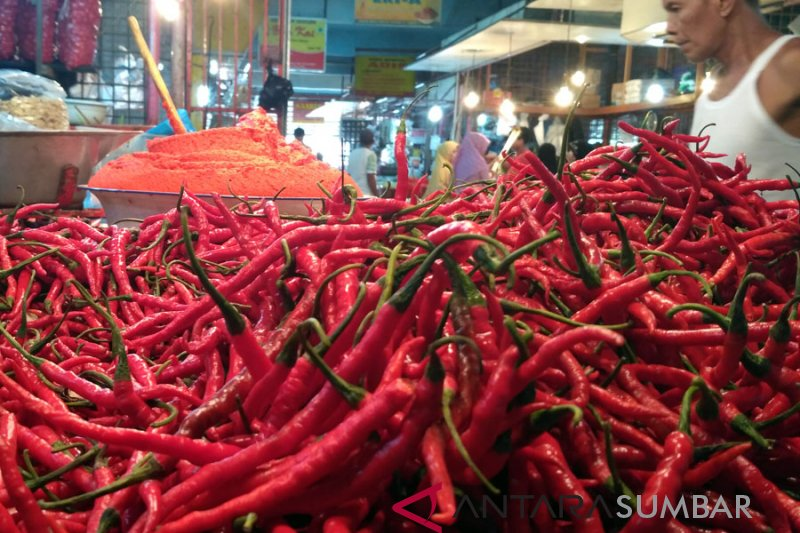 Komoditas cabai merah sumbang inflasi di Bukittinggi