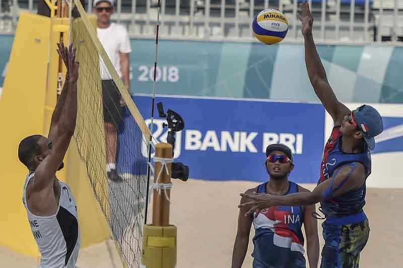 Asian Games (Voli Pantai) - Masyarakat rela membeli karcis saksikan pertandingan voli pantai