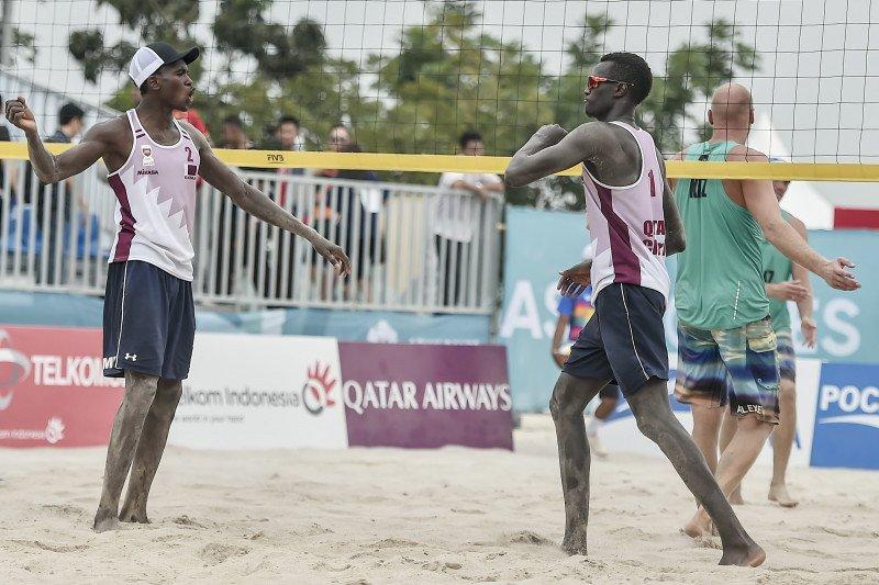 Asian games  - Tim voli pantai putra Qatar melaju ke final