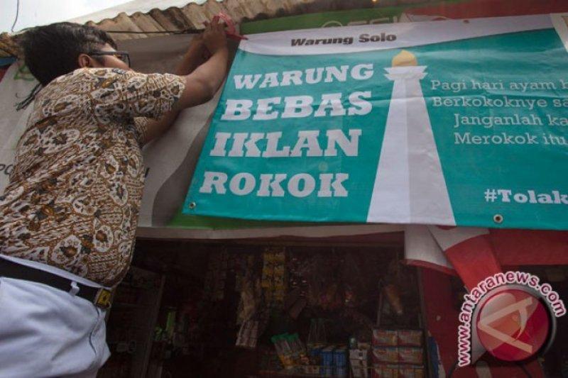 Di Jakarta, 61,2 persen warung rokok berada 100 meter dari area sekolah