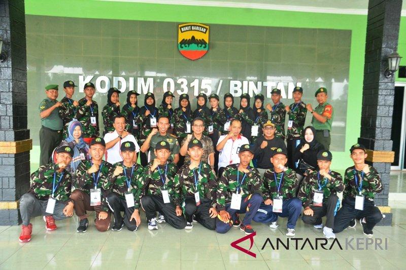 BUMN Hadir -   Komandan Kodim 0315 Bintan motivasi  peserta SMN
