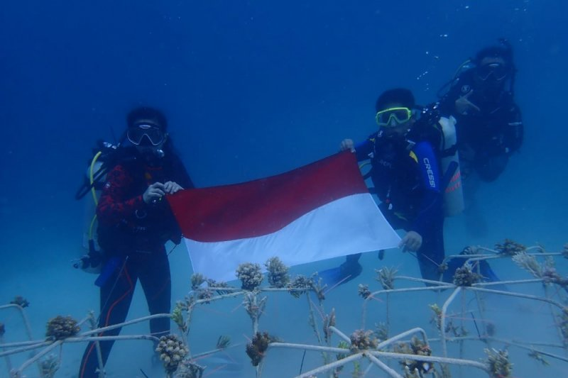 TNKT ajak masyarakat tojo una-una jaga terumbu karang