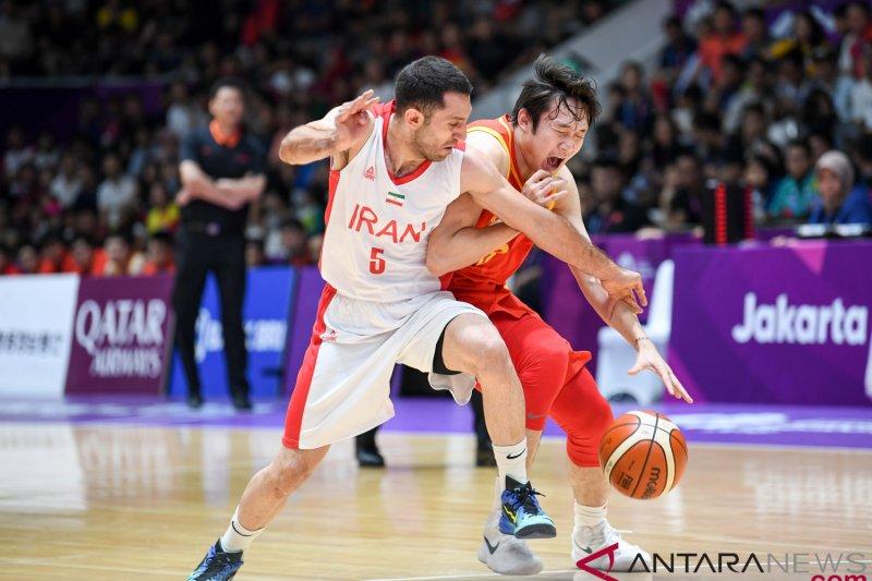 Tim putra bekap Iran, China kawinkan emas basket