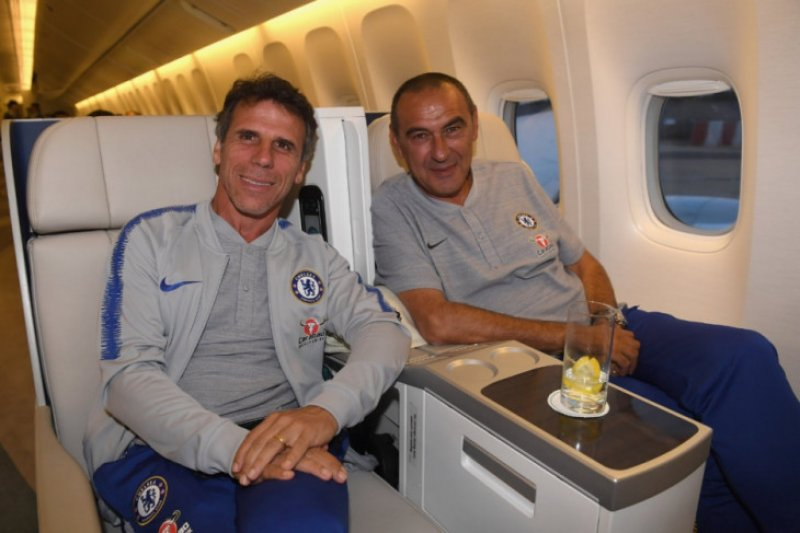 Zola ungkap pola latihan Sarri buat bintang Chelsea bosan