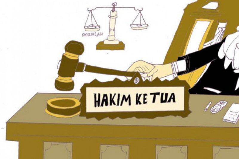 Pengacara Tomy Winata pukul dua hakim saat membacakan putusan perkara