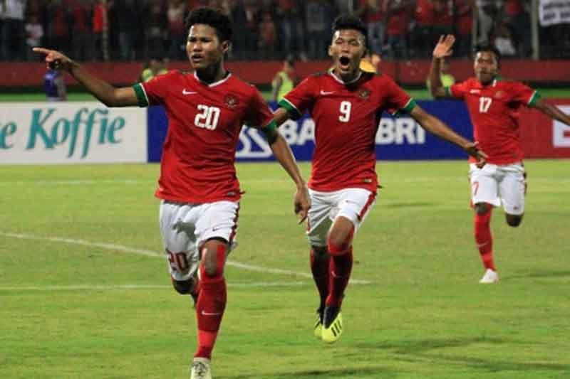 Zico bawa Indonesia sementara ungguli Australia 1-0