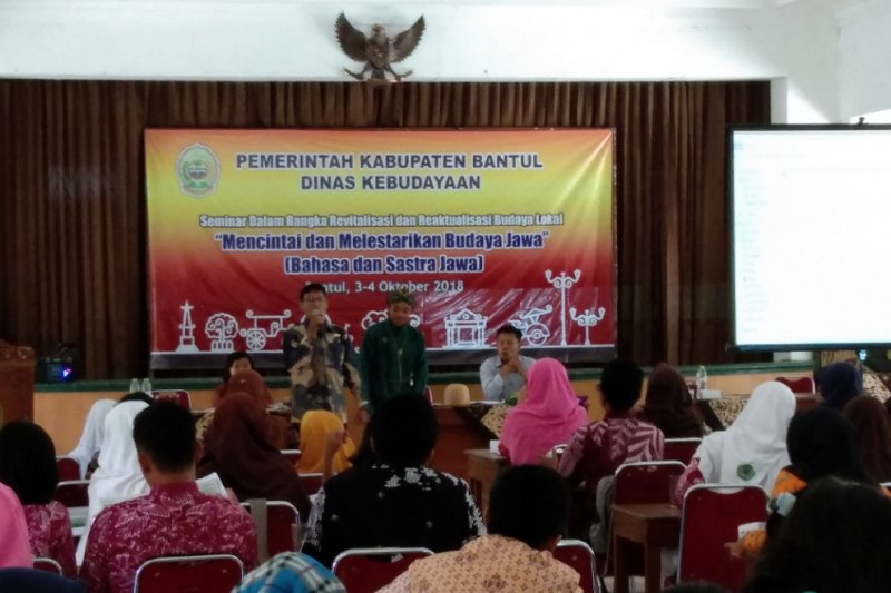 Bantul tingkatkan wawasan budaya Jawa kepada generasi muda