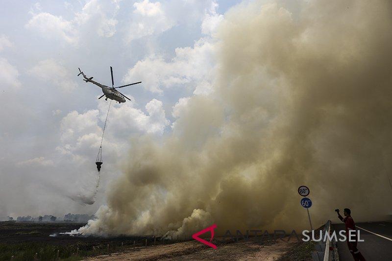 10 Helikopter dan Cassa perkuat Satgas Karhutla Riau