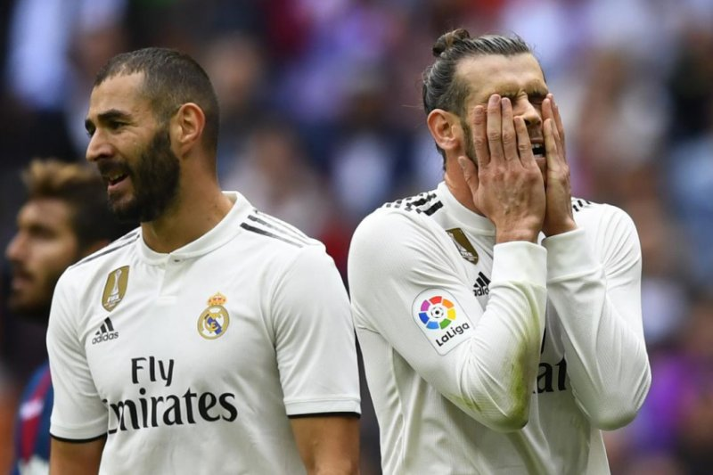 Real Madrid dipermalukan Levante