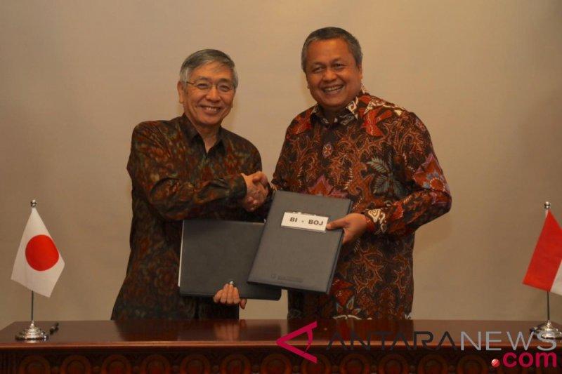 Indonesia dan Jepang perpanjang perjanjian pertukaran mata uang rupiah dan yen