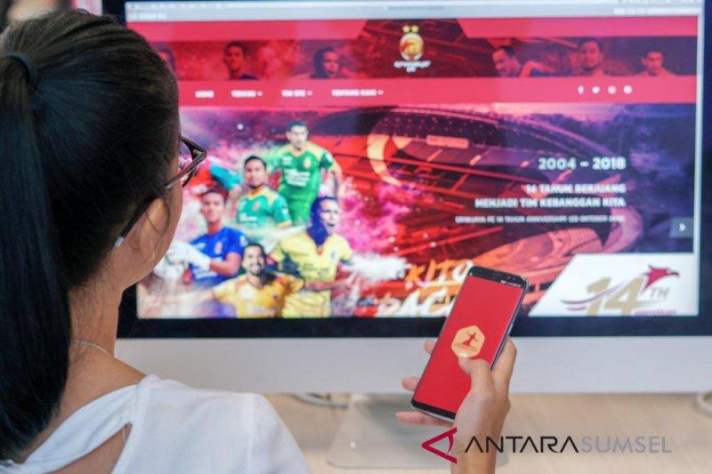 "Sriwijaya FC luncurkan aplikasi ""kitosriwijaya"""