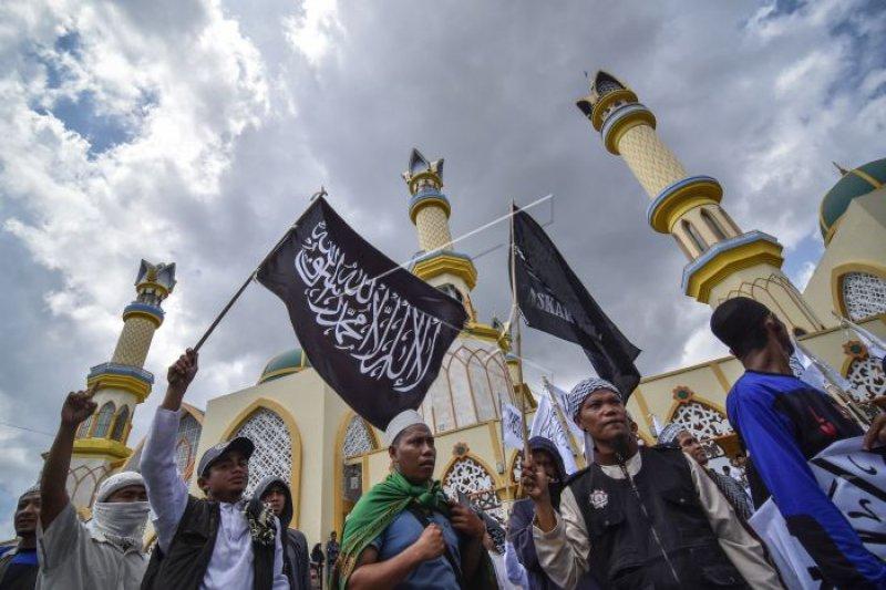 Aksi bela Tauhid ditunggangi HTI, kata Wiranto