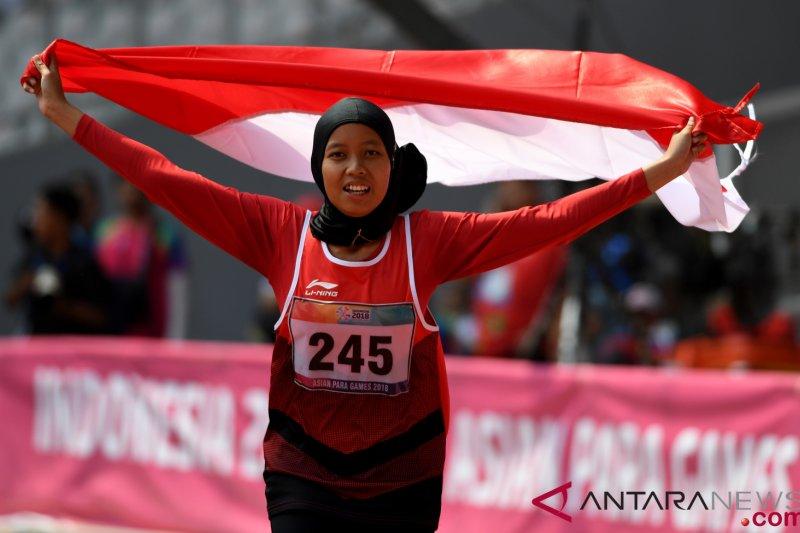 Karisma Evi Tiarani rebut emas lari 100 meter putri