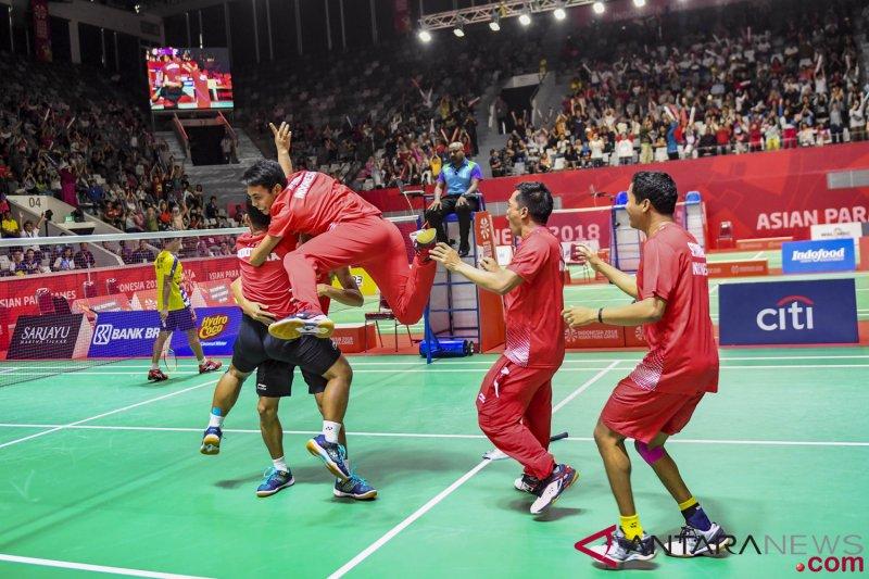 Ganda putra bulu tangkis SU5 ingin wujudkan All-Indonesian Final